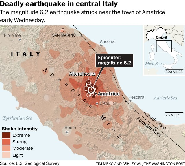 picture of earthqueck
