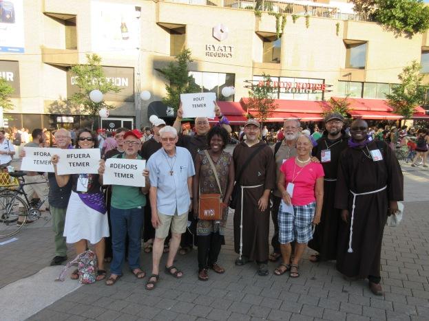World social forum, franciscan delegation