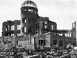 Urakami Cathedral after bomb