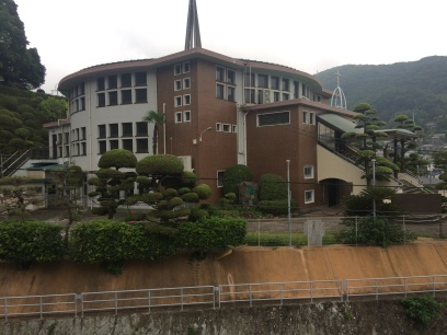 Franciscan church in Nagasaki