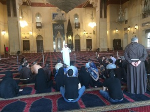 Dialogue at the Mosque in Beirut