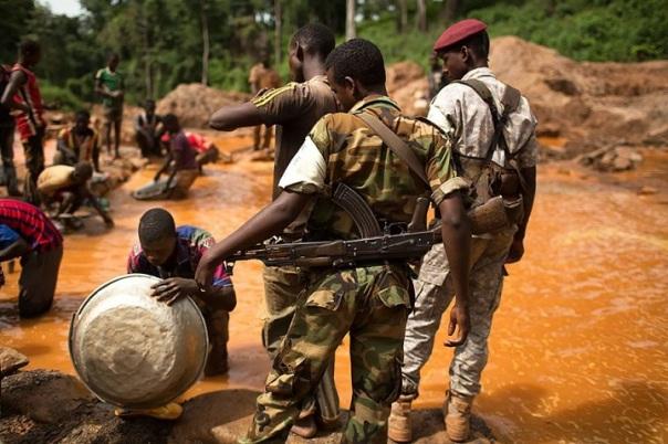 DRC-coltan mining